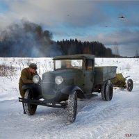 """Утекай!!   (из серии  """"Моторы войны"""") :: Виктор Перякин"""