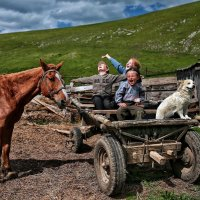 На деревне, у бабушки... :: Roman Mordashev