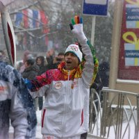 Снег и пламень :: Сергей