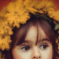 Маленькая селянка :: Ольга Капустина