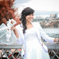 Свадьба (невеста с букетом) :: Вадим Головкин
