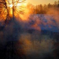 Просто зимний закат.... :: Андрей Войцехов