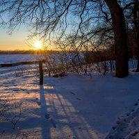 Зима на кордоне :: Victor