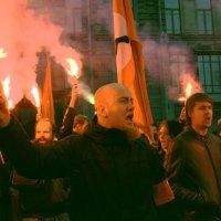 Запрещенная демонстрация :: Цветков Виктор Васильевич