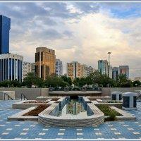 Вечер в Абу-Даби :: Евгений Печенин