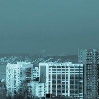 31 января  вид с 10 этажа :: Арсений Корицкий