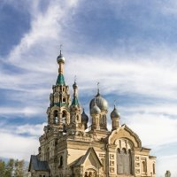 Храм в селе Кукобой :: Антон Лебедев