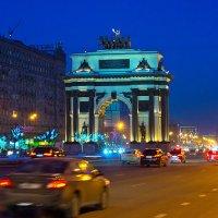 Москва. Триумфальная арка. Кутузовский проспект. :: Игорь Герман