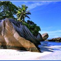 Побережье острова Ла Диг :: Евгений Печенин