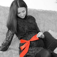 red bow :: Юлия Мышанская
