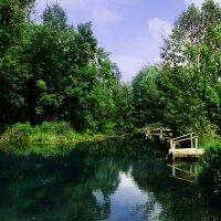 Голубое озеро. :: Елена Скартова