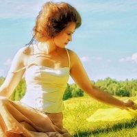 залита солнечным светом... :: Ирэна Мазакина