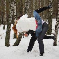 Зима... камасутра... :)) Не пытайтесь повторить!!! :: Дарья Казбанова