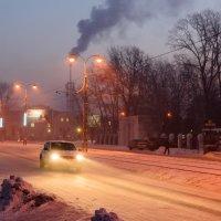 Морозное утро :: Сергей Черепанов