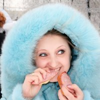 Вкусная колбаска..:))) :: Марина Назарова