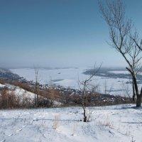 зима на Волге :: Андрей ЕВСЕЕВ