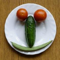 Овощной портрет :) :: Валерий Шибаев