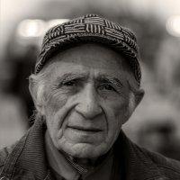 Из серии золотой возраст-уличный портрет :: Shmual Hava Retro