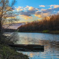 вечер на озере :: Регина Богомолова
