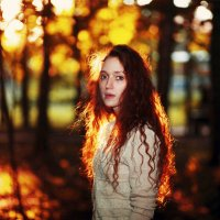 пляски июля в волосах :: Юлия Солнечная