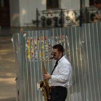 Уличный музыкант :: VOROBYOFF VOROBYOV