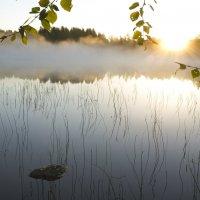 Анна Караулова - Рассвет на озере