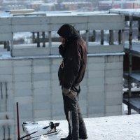 На крыше :: Дмитрий Арсеньев