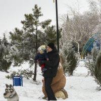 Зимния прогулка :: Александр Кузин
