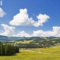 Лето над деревней :: юрий Амосов