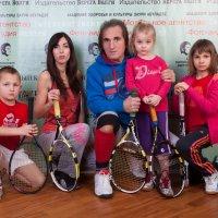 Детский теннис и заури Абуладзе, :: Заури Абуладзе