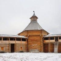 Моховая башня Сумского острога. :: Юрий Шувалов