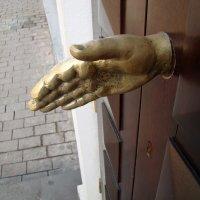 Давай пожмем друг-другу руки :: Александр Запылёнов
