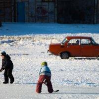 На льду :: Антуан Мирошниченко