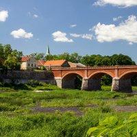 Мост через Венту. Кулдига. Латвия. :: Igor Shoshin
