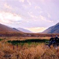 После захода солнца в горах на Чонг-Кемине, Киргизия :: Игорь Лариков