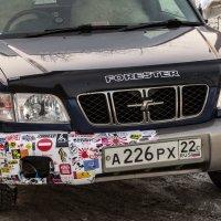 Машина с логотипами :: Сергей Черепанов