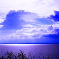 Небо над Волгой :: Игорь Сорокин