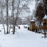Городской парк :: Елена Ахромеева