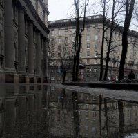 Дождливый февраль в стиле Ампир :: Юрий Цыплятников