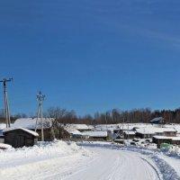 Деревня зимой :: Иван Клещин
