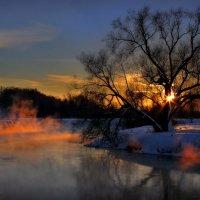 Закатное возгорание..... :: Андрей Войцехов