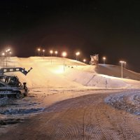 лыжный кластер :: юрий макаров