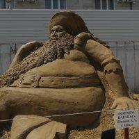 Анапа. Выставка песчаных скульптур. :: Олег Афанасьевич Сергеев