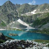 Горное озеро :: Анисимов Сергей