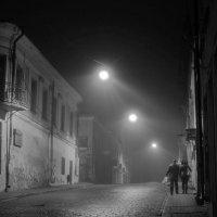 Ночной туман. :: сергей лебедев