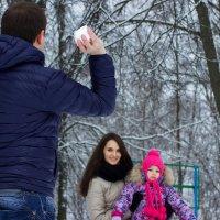 снежки!!! :: Алёна Горбылёва