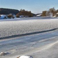 зима.река.лед. :: юрий иванов