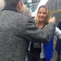 Приезд сестренки в Днепр :: Виталий Бережной