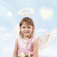 Ангел мой... внеземной... :: Olga Pronina