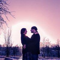 Любовь на закате :: Виктория Гаман